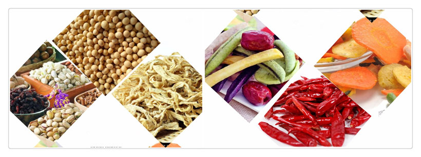 herbs and vegetables dried by belt dryer machine