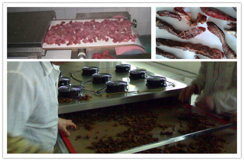 how to dry meat by microwave meat dryer machine