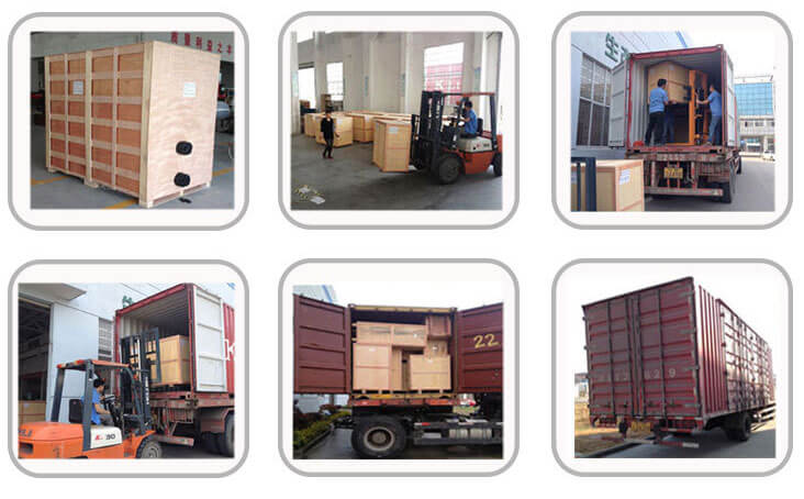 packing and shipping of Nigerial saled fish drying machine