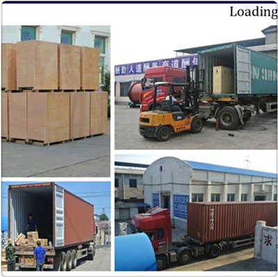 shipping of multilayer belt dryer machine to America